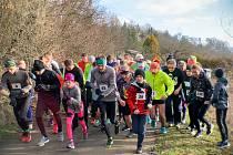 Běh na 2 míle ve Zlíně, březen 2020