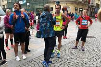 Milan Zvonek v Ostravském maratonu 2018