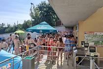 Horký víkend na koupalištích a u vodních ploch na Zlínsku
