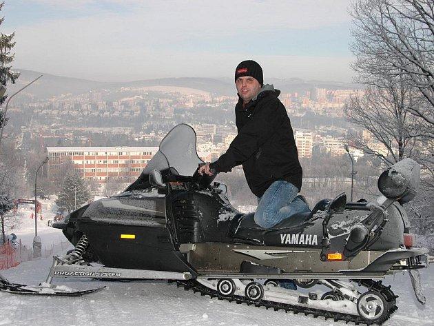 Provozovatel lyžařského svahu ve Zlíně Michal Cepek měl s areálem velké plány