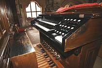 Varhany ve Štípě.