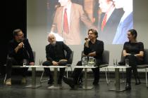 Ve zlínské knihovně svou novou knihu Samet v divadle představil Jakub Malovaný