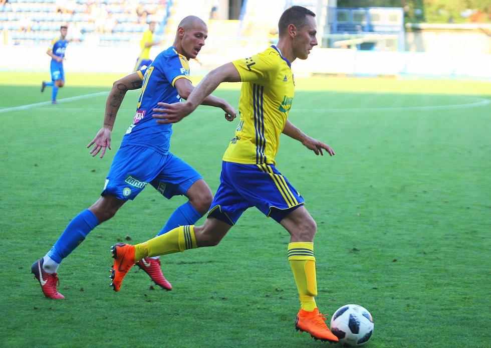 Fotbalisté Zlína zdolali v 5. kole FORTUNA:LIGY Teplice 1:0. Sobotní zápas rozhodl v 93. minutě střídající Jakubov.