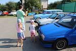 Sraz vozů Škoda vyrobených do roku 1994 v Lukově