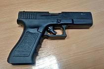 Zabavená plynová pistole