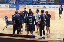 Volejbalisté zlínské Fatry v 21. kole Uniqa extraligy proti Brnu prohráli 0:3 na sety.