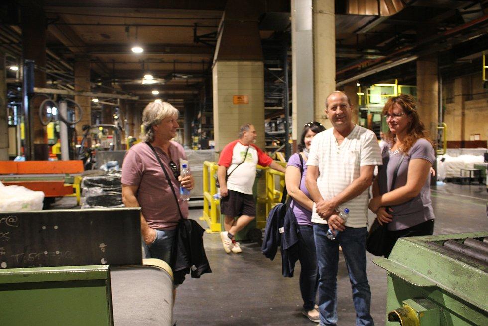 Continental Barum přivítal návštěvníky. Na den otevřených dveří jich přišly tisíce