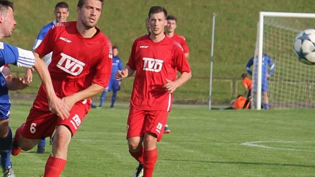 Fotbalisté Slavičína. Ilustrační foto