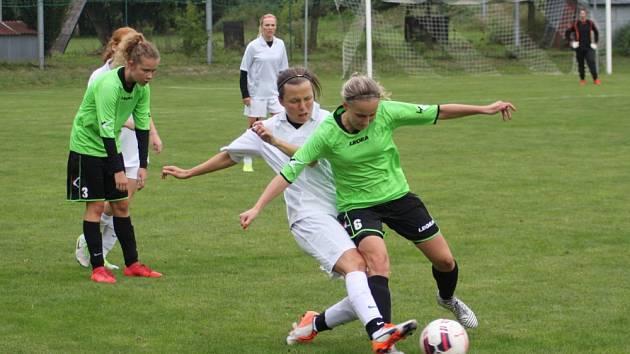 Moravskoslezská divize žen 2019. Ilustrační foto