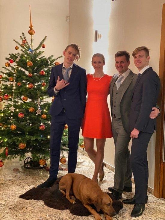 Mária Sýkorová a její rodina