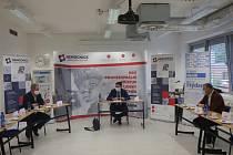 Předvolební debata Deníku s lídry kandidátek Zlínského kraje