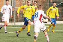 Česká fotbalová reprezentace do osmnácti let v březnu roku 20014 porazila na Baťově starší dorost Fastavu Zlín 3:0.