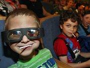 "FILM FEST ZLÍN 2014: Dražba festivalových filmových klapek. Na snímku klapka Bořka Zemana "" S osuškou"" akryl 2013"