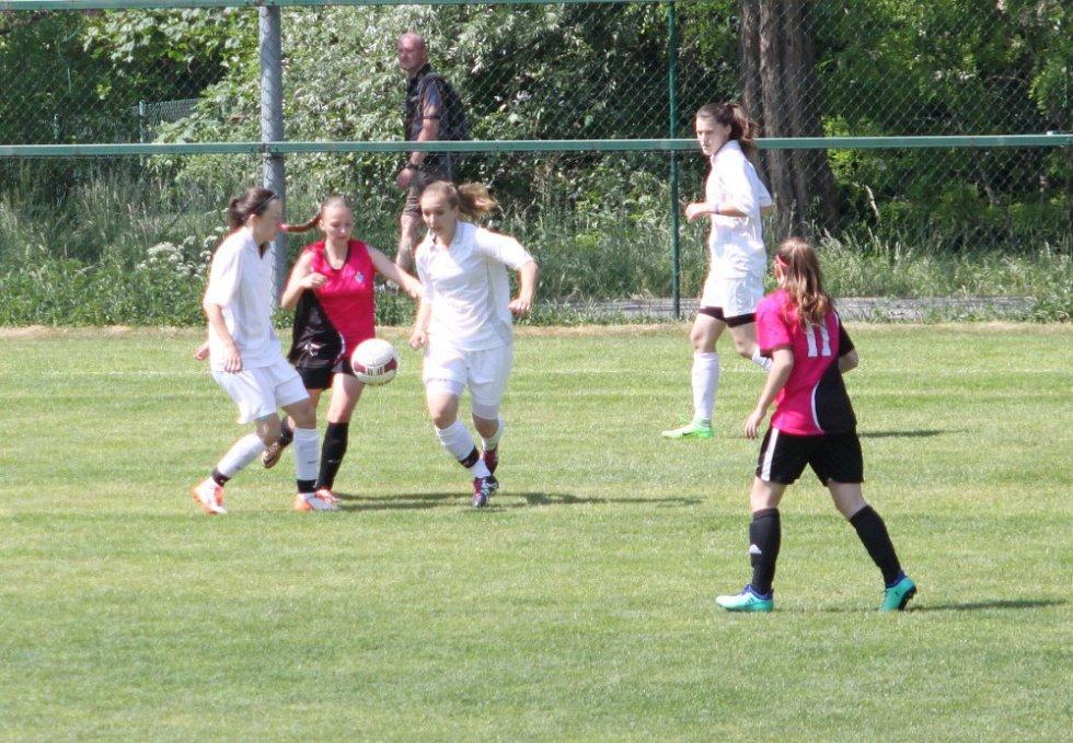 fotbalový krajský přebor žen Holešovské holky-Lužkovice