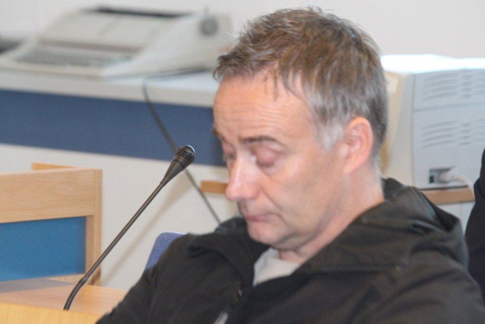 Miroslav Klösel u krajského soudu ve Zlíně.