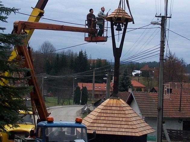 Zvonice ve Smolině.
