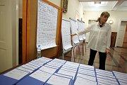Prezidentské volby 2018.  Radnice magistrát centrální evidence