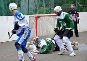 2. liga hokejbalu Malenovice-Kyjov 8:4