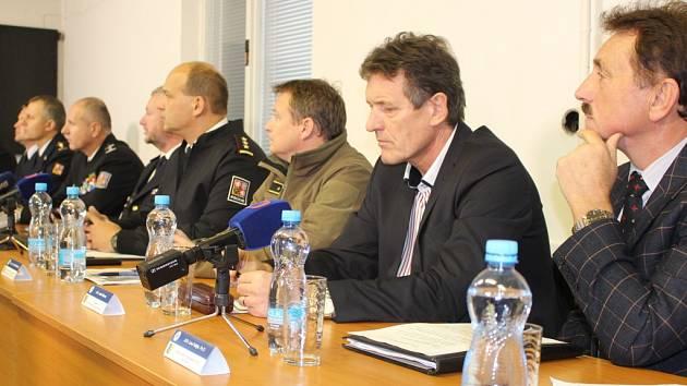 Tisková bilanční konference – Výbuchy muničních skladů ve Vrběticích