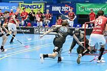 Otrokovičtí florbalisté prohráli v 10. kole Superligy se Spartou Praha 1:5 a v tabulce zůstali předposlední.