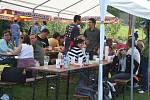 Ve Zlíně Lužkovicích uspořádal místní fotbalový klub první ročník Slavnostní piva. Nechyběly soutěže ani živá hudba.