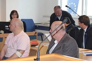 Metanolová aféra u soudu – Rudolf Fian a Jiří Vacula. Ilustrační foto