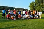 Na hřišti v Újezdu se o víkendu dohrála LIGA4, které se zúčastnily čtyři týmy ze Zlínska.