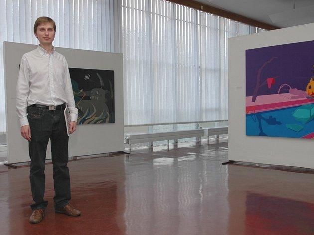 Václav Mílek, nový ředitel Krajské galerie výtvarného umění ve Zlíně.