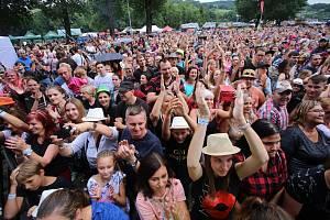 Festival Trnkobraní 2019 ve Vizovicích. Skupina Mirai