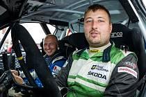 Zlínská posádka Martin Vopatřil - Michal Večerka ve voze Peugeot 208 VTi R2.
