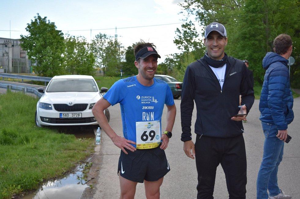 štafetový závod Run Labe Run 2021, Filip Bukovjan