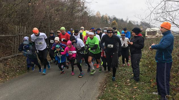 Běh na 2 míle ve Zlíně, prosinec 2018
