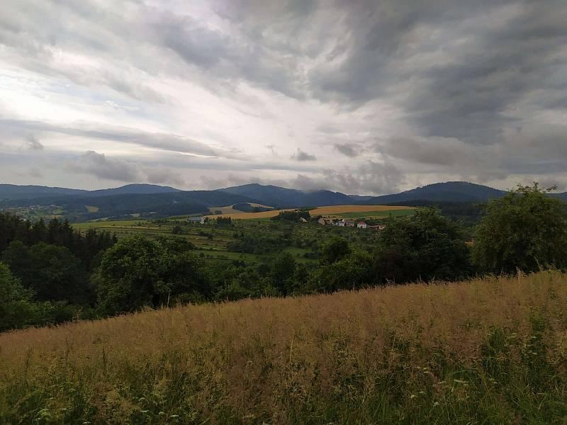 Krásy Vizovickych vrchů.