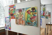 Výstava ve zlínské Alternativě.