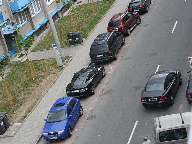 Parkování na Zarámí