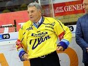 Legenda Zlína, bývalý obránce, trenér a generální manažer Bohumil Kožela