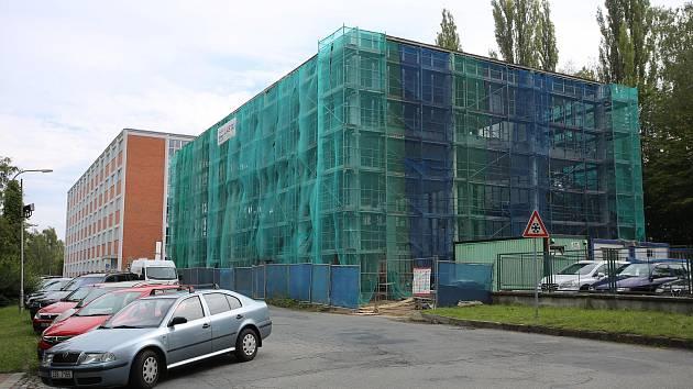 Rekonstrukce památníku T. Baťi ve Zlíně.