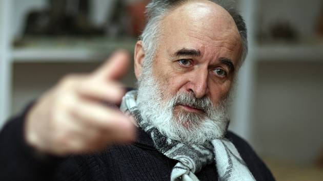 Všestranný umělec Jaroslav Kovanda.