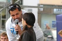 Martin Dejdar při vystoupení v rámci zlínského filmového festivalu.