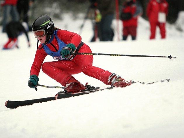 Alpské lyžování - obří slalom, Ski areál Razula, Velké Karlovice