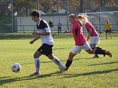 Fotbal ženy: Holešovské holky vs. Valašské Meziříčí