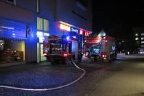 Hasiči v neděli (7. 7. 2019) zasahovali u požáru v objektu na ulici Rašínova ve Zlíně.