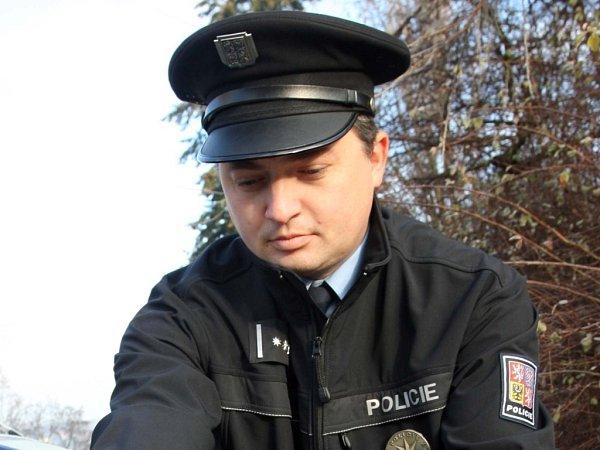 Petr Jaroš, tiskový mluvčí Policie ČR ve Zlíně