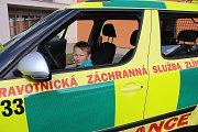 Zdravotnická záchranná služba Zlínského kraje otevřela veřejnosti své dveře dokořán již podvanácté.