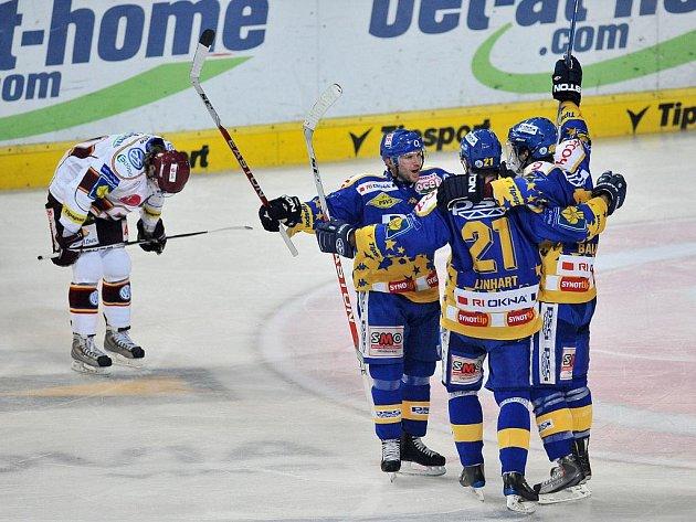 Hokej Psg Zlín - HC Sparta Praha.