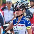 Silvie Zvonková na bikemaratonu v Horním Srnie.