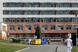 Krajská nemocnice T. Bati ve Zlíně, budova interny. Ilustrační foto