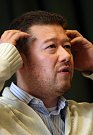 Tomio Okamura diskutoval v pátek 9. března na půdě Univerzity Tomáše Bati se studenty.