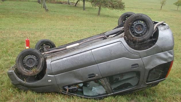 Víkendové nehody ve Zlínském kraji