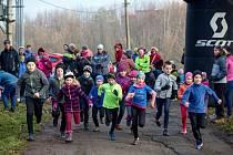 Tříkrálový trailový běh v Otrokovicích